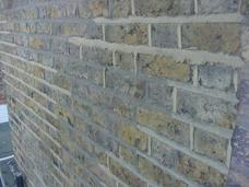Cement repointing that has been repointed again!