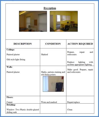 SCHEDULE OF DILAPIDATIONS EXAMPLE PDF DOWNLOAD