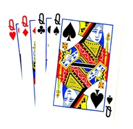 four-queens-boost-poker-clipart