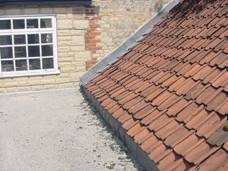 Pantile roof