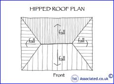 56 Hipped roof plan