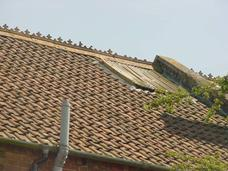 Roof window to pitched roof of poor quality