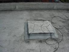 Roof light to flat roof that has been asphalted over
