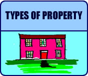 Types of property in this area