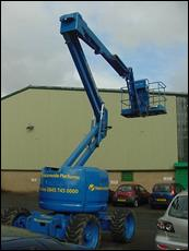 Cherry picker photo